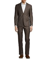 John Varvatos - Plain Wool Suit - Lyst
