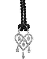 Poiray - 18k 0.45 Ct. Tw. Diamond Necklace - Lyst