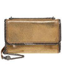 7245ce0df6 Lyst - Stella Mccartney Falabella Chamois Cross Body Bag in Brown