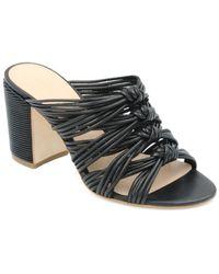 Rachel Zoe - Odessa Leather Sandal - Lyst