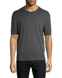 Tom Ford - Solid Crewneck T-shirt - Lyst