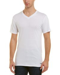Kenneth Cole - New York 3 Pack Slim V-neck T-shirt - Lyst