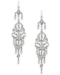 Ben-Amun - Swarovski Crystal Chandelier Earrings - Lyst
