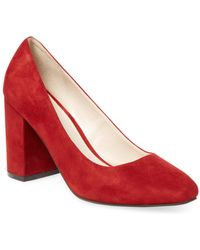 Cole Haan - Justine Suede Court Shoes - Lyst