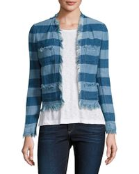 AG Jeans - Capucine Cropped Jacket - Lyst