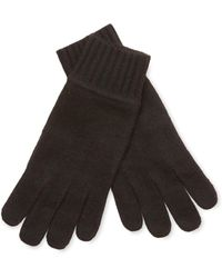 Portolano - Ribbed Cashmere Glove - Lyst