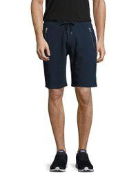 The Kooples Sport - Solid Zip Pocket Sweat Shorts - Lyst