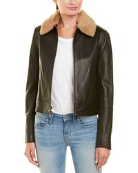 Vince - Leather Jacket - Lyst