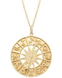 Gabi Rielle 22k Over Silver Necklace - Metallic
