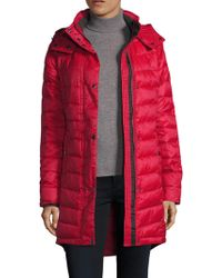 Pajar - Callie Quilted Hooded Coat - Lyst