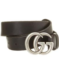 Gucci Double G Buckle Leather Belt - Multicolour