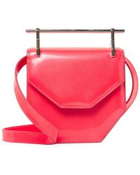 M2malletier - Amor Fati Mini Leather Shoulder Bag - Lyst