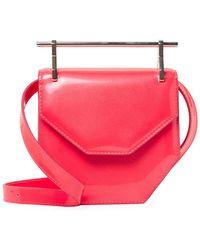 M2malletier - Amour Fati Mini Leather Shoulder Bag - Lyst