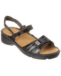 50567dbee3af Lyst - Born Anthie Leather Sandals (for Women) in Black