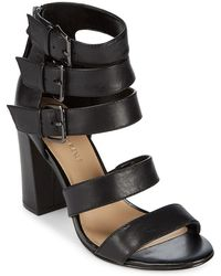 Saks Fifth Avenue - Presley Strappy Leather Shoes - Lyst