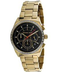 d45675c10b9e Lyst - Michael Kors Women s Mercer Watch