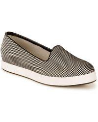 Giorgio Armani - Bianco Monochrome Sneakers - Lyst