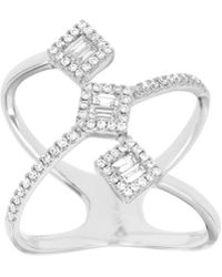 Diana M. Jewels - . Fine Jewelry 14kt 0.40 Ct. Tw. Diamond Ring - Lyst