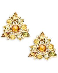 Temple St. Clair - High 18k Cluster Studs - Lyst