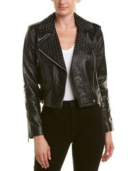 Walter Baker - Studded Leather Jacket - Lyst