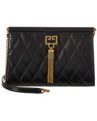 Givenchy - Gem Leather Shoulder Bag - Lyst