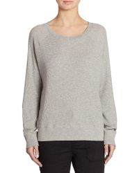 Vince - Cotton Raglan Top - Lyst