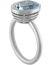 Tate - Platinum 3.50 Ct. Tw. Aquamarine Ring - Lyst