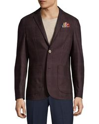AT.P.CO - Notch Welt Chest Sportcoat - Lyst