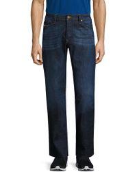 DIESEL - Viker L.34 Straight Fit Cotton Jeans - Lyst