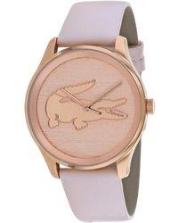 Lacoste - Women's Victoria Watch - Lyst