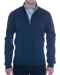 Robert Talbott - Harper Ii Interlock 1/4 Zip - Lyst