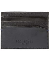 Ted Baker - Rubber Leather Document Bag - Lyst