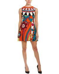 RED Valentino A-line Dress - Blue