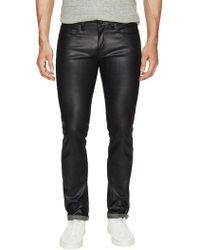 Naked & Famous - Super Skinny Guy Wax Coated Stretch Jeans - Lyst