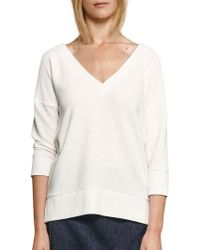 French Connection - Spring Dudan Three-quarter Sleeved Sweater - Lyst