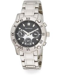 English Laundry - Stainless Steel Chronograph Bracelet Watch - Lyst