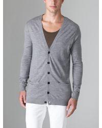 BLK DNM - Wool Cardigan - Lyst