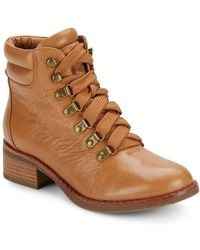 Gentle Souls - Leather Mid Top Boots - Lyst