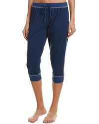 Splendid - Cropped Pajama Pant - Lyst