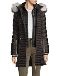Bogner - Cheryl-d Faux Fur-trimmed Down Jacket - Lyst