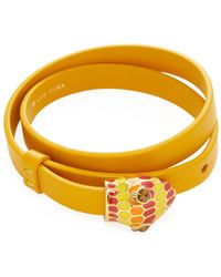 Kate Spade - Spice Things Up Leather Bracelet - Lyst