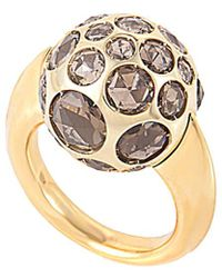 Pomellato - 18k Rose Gold Quartz Ring - Lyst