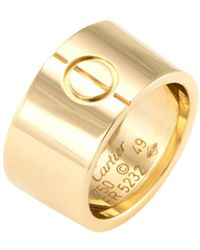 cartier love ring lyst