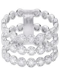 Diana M. Jewels - . Fine Jewelry 14k Tri-layer 1.00 Ct. Tw. Diamond Ring - Lyst