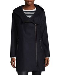 SOIA & KYO - Hooded Kenzie Coat - Lyst