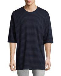 Diesel Black Gold | Taitan Stripe T-shirt | Lyst