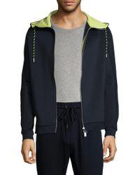 Armani Exchange - Hooded Sport Jacket - Lyst