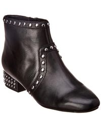 Sam Edelman - Lorin Leather Bootie - Lyst