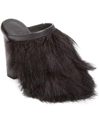 Tibi - Bee Feather Mules - Lyst