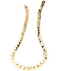 Eddie Borgo - Pyramid Necklace - Lyst